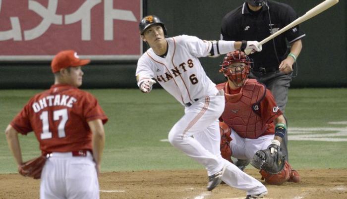 hayato sakamoto Giants Japón