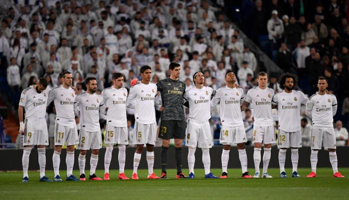 Real Madrid Zidane entrenamientos coronavirus