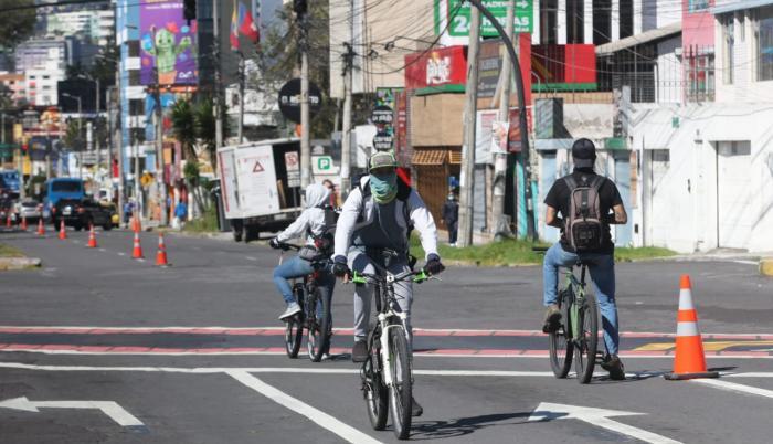 Quito-ciclovía-bicicletas-coronavirus