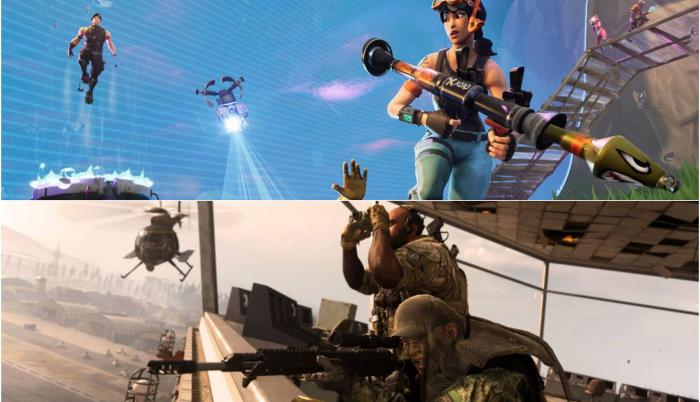 Call of Duty o Fortnite: ¿Quién será el rey del Battle Royale?