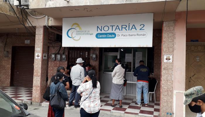 NOTARIA DONDE ESTUVIERON LOS ALCALDES