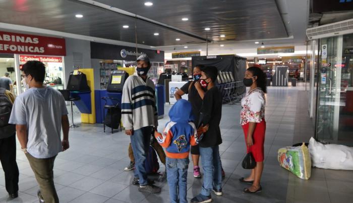 Terminal Terrestre coronavirus