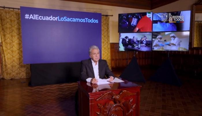 moreno+cadena nacional+pandemia+leyes