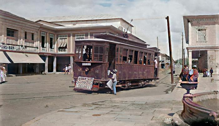 Tranvía-Guayaquil-foto restaurada