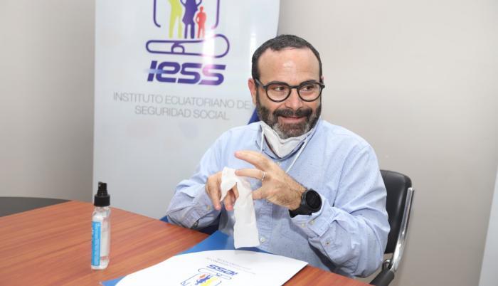 Jorge Wated, presidente del IESS