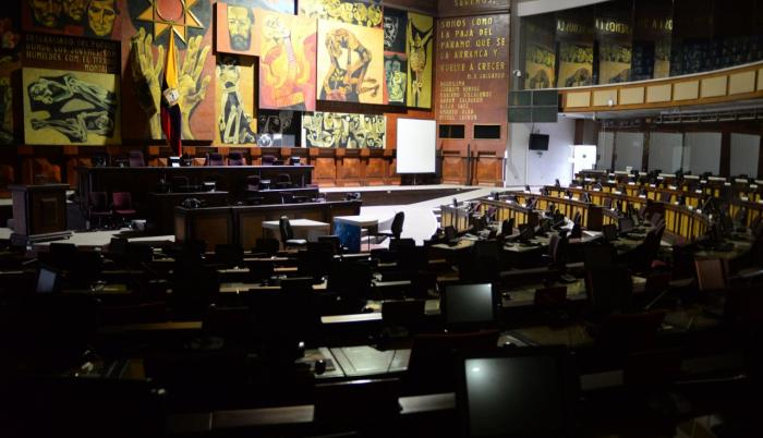 Asamblea Nacional vacía. Archivo EXPRESO.