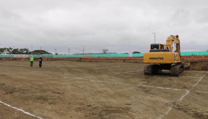 Construcción del hospital de pedernales