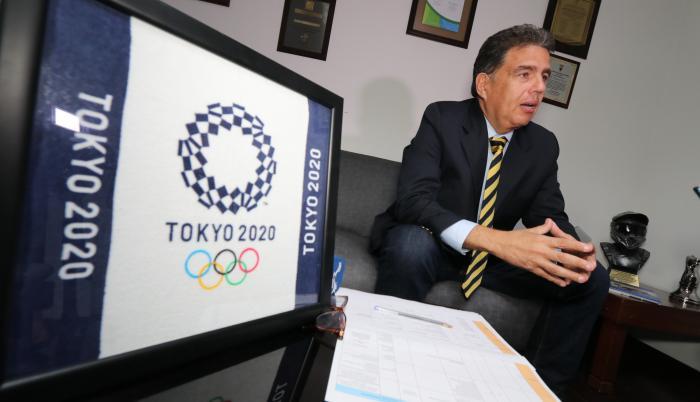 Augusto Morán Comité Olímpico Ecuatoriano COE