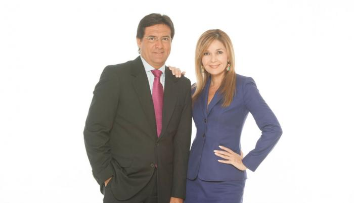 Carlos Luis Morales y Rocío Cedeño.