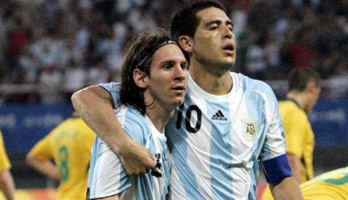 Messi-Riquelme