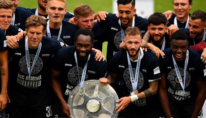 Arminia+Bielefeld+Budesliga2+Fútbol