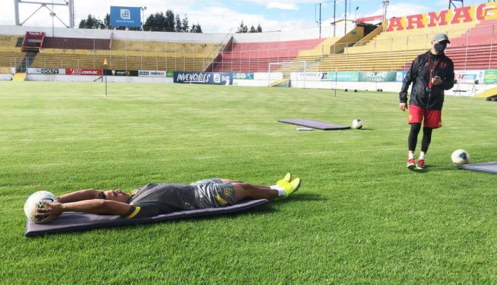 Aucas+Entrenamiento+Fútbol+LigaPro