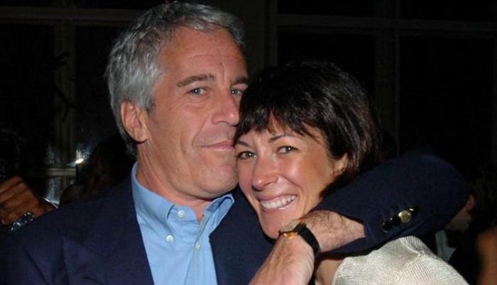 Jeffrey Epstein y Ghislaine Maxell