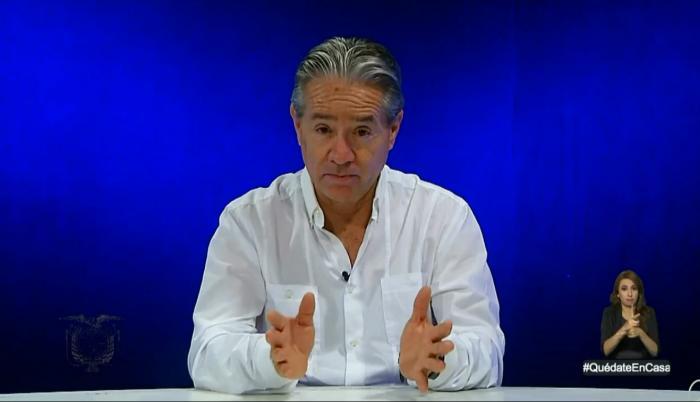 Juan Carlos Zevallos Conadis Ministro de Salud