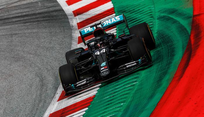 Lewis Hamilton Mercedes GP Austria