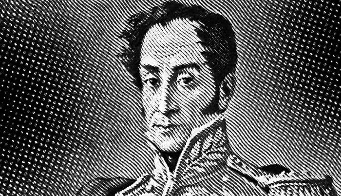 Simón Bolívar, ilustración para columna de Francisco Swett del domingo 5 de julio de 2020.