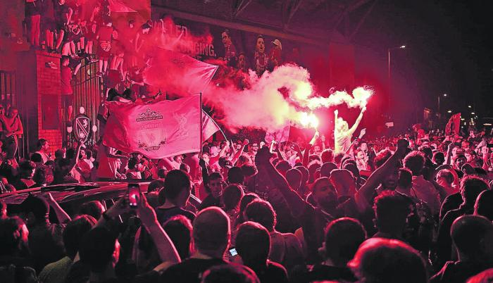 Hinchas-Liverpool