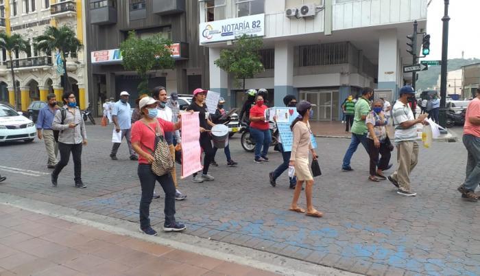 discapacitados exigen derechos marcha
