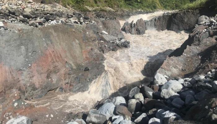 Río Coca_Erosión regresiva_Avance julio 2020