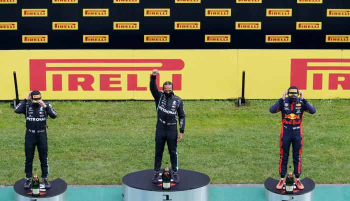 Robot-podio-Fórmula-Uno