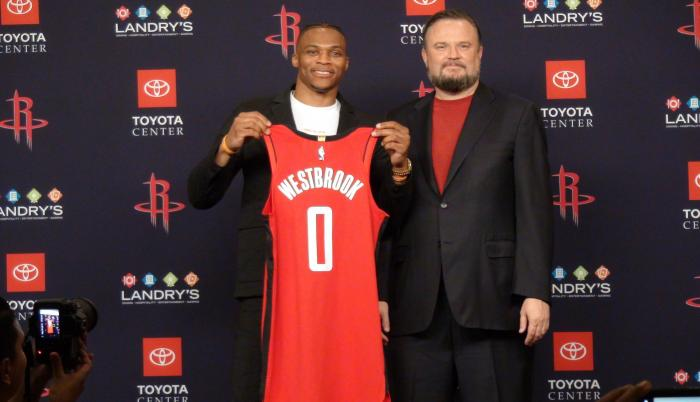 Russell Westbrook Rockets Houston
