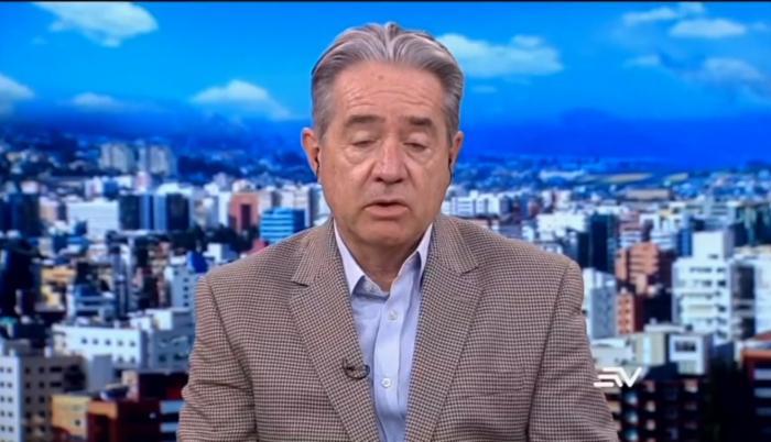 Juan Carlos Zevallos, ministro de Salud, en Ecuavisa