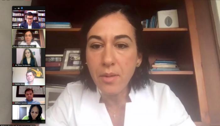 María Alejandra Muñoz directora de SENAE