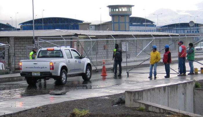 Referencial. Cárcel de Latacunga. El último documento será remitido al Ministerio del Interior, Defensoría del Pueblo y al Servicio Nacional de Atención a Privados de la Libertad (SNAI).
