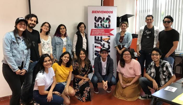 Vanessa Alarcón, Christian Benítez, Elisa de Janon, Emilio Luna y César Mata, son los alumnos de la UCG, detrás de la idea.