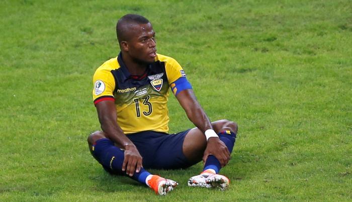 EL delantero Tricolor Enner Valencia.