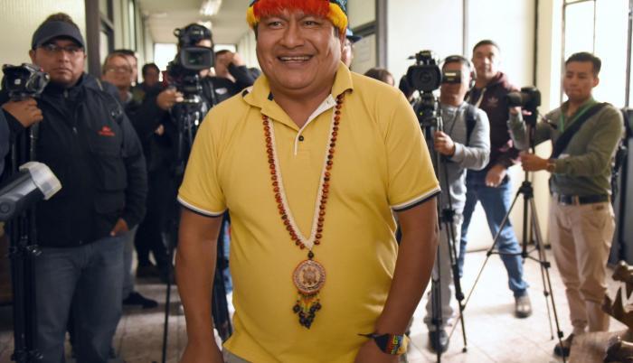 Presidente. Jaime Vargas impone sus condiciones para el diálogo, pretende inmunidad ante la justicia y dicta las políticas económicas para el país.