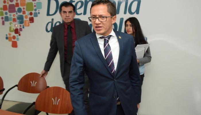 Freddy Carrión, defensor del Pueblo, aseguró que no pueden quedar al margen de la lucho contra la corrupción.