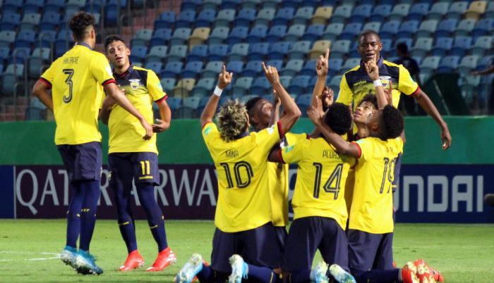 La selección ecuatoriana Sub 17 venció a su similar de Australia por 2-1 en Brasil.