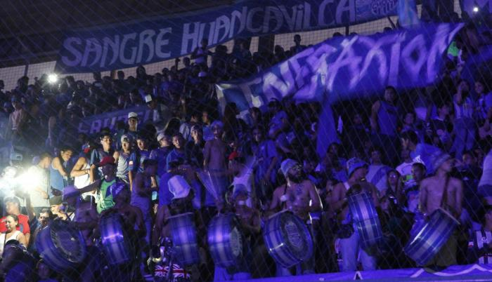 Imagen referencial. Tamboristas la barra Boca del Pozo en la Explosión Azul 2015.