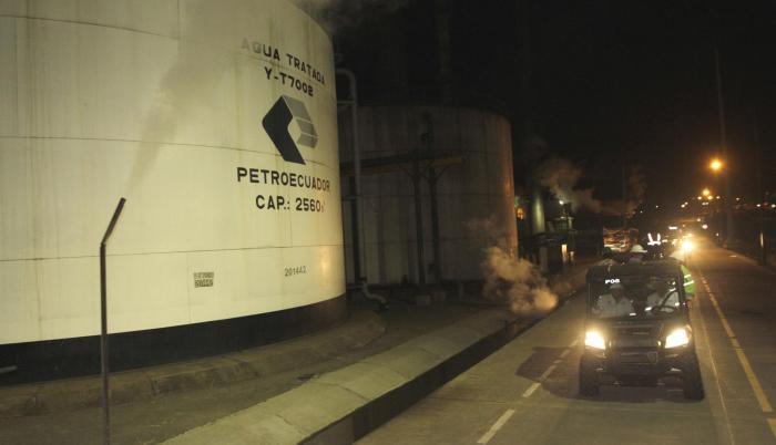 Petroecuador, pese al ajuste, continuó con proyectos de refinación.