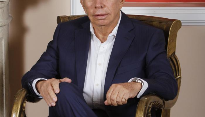 Don Alfonso de estrenó como abuelo en 2018.