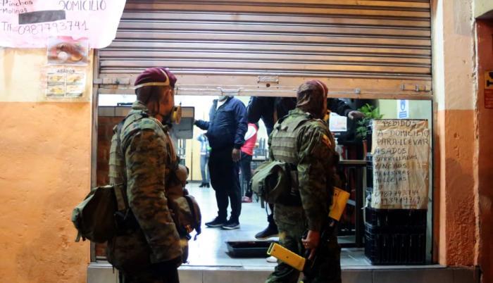 Iniciaron los operativos militares en Quito