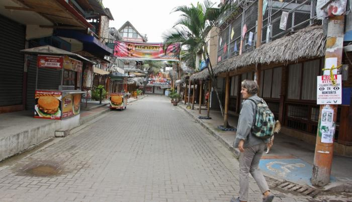 El COE cantonal de Santa Elena decidió no abrir sus playas