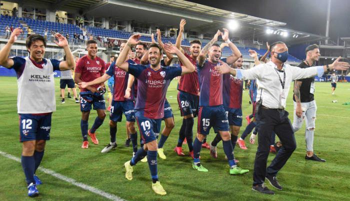 Huesca España ascenso