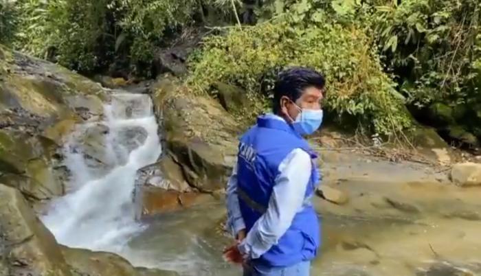 Jorge Yunda promociona el turismo por los bosques del noroccidente de Quito