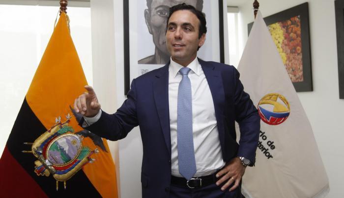 El ministro de Producción, Comercio Exterior e Inversiones de Ecuador, Pablo Campana es muy optimista en la apertura comercial y trabajar hombro a hombro con el sector privado.