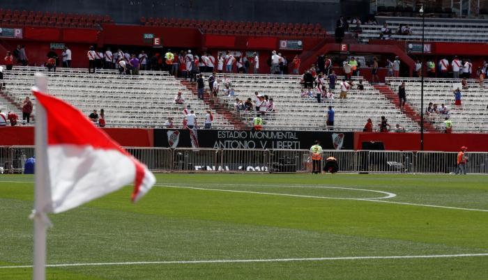 El estadio Monumental de River donde se tenía previsto jugar la final.