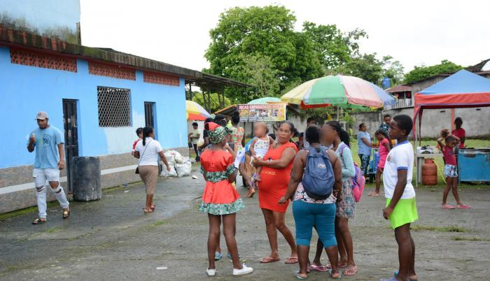 Tranquilidad. Pese a lo sucedido, los habitantes de San Lorenzo no han interrumpido su rutina y siguen sus vidas.