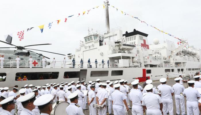 El buque. Este año desde que zarpó, el 28 de junio, ha estado en Papúa Nueva Guinea, Tonga, Fiyi, Venezuela, Antigua y Barbuda, República Dominicana.