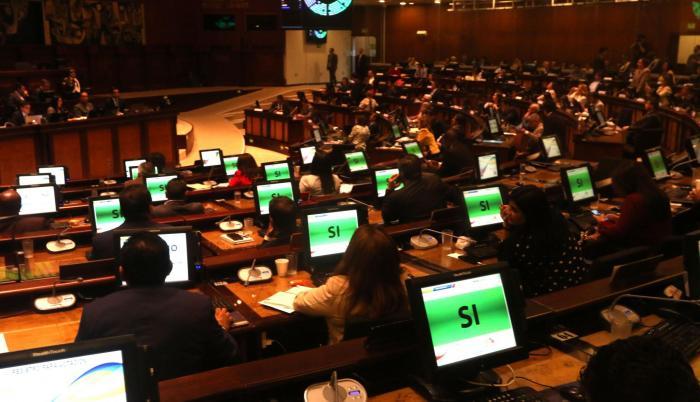 Trabajo. La Asamblea durante el año aprobó un total de 18 leyes. El Presupuesto entró por el ministerio de la Ley.