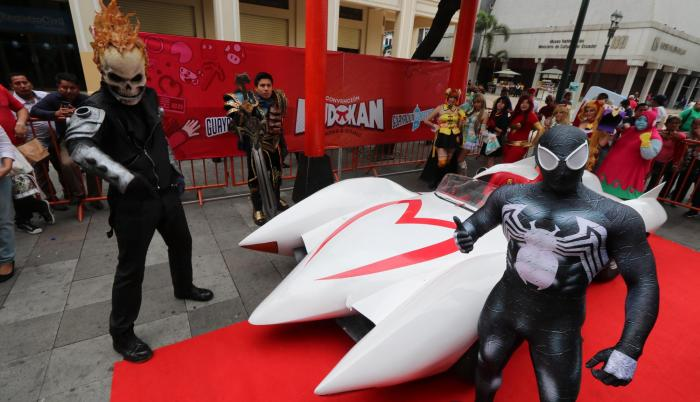 Réplica. La réplica del Mach 5, de la serie Meteoro, será parte de esta convención en el Palacio de Cristal.