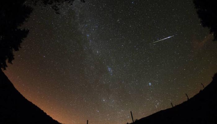 Imagen referencial. Para apreciar la lluvia de meteoros, conocida como Oriónidas, es necesario estar en sitios despejados y sin mucha luz.