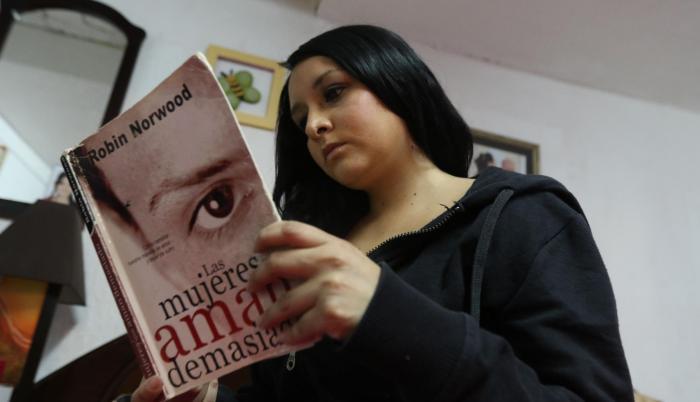 Eliana Barreto fue violentada por su expareja. Aún en su rostro se pueden ver las secuelas de la agresión.