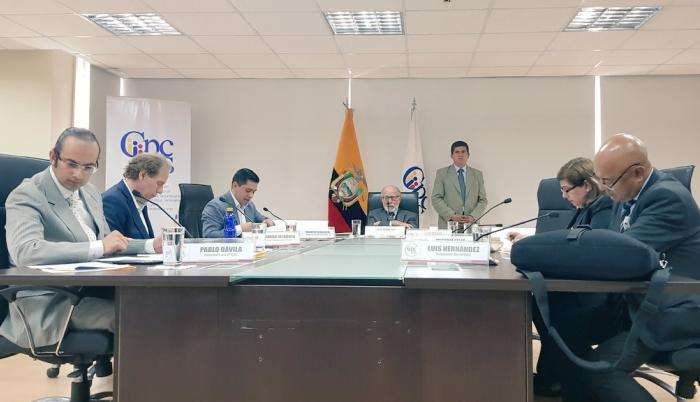 El Pleno del CPCCS Transitorio nombró a las autoridades.