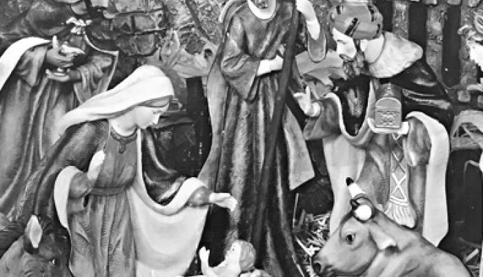 La Navidad para la reunión de las familias